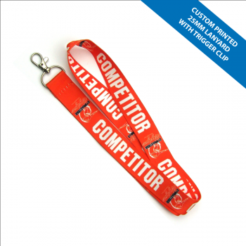 Lanyard Full Colour Print 25mm