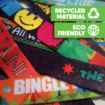 Fabric Woven & Printed Wristbands