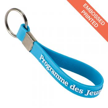 Silicone Rubber Key Rings Mpm Wristbands